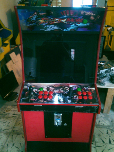 maquina de videojuegos de cpu   arcade
