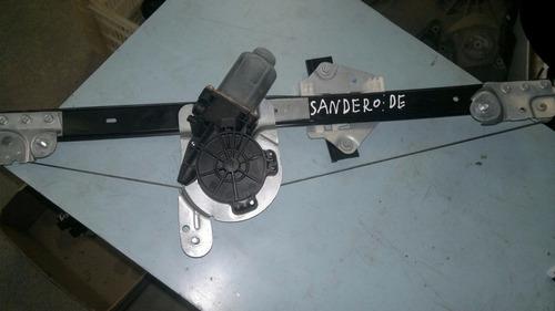 máquina de vidro dianteira esquerda renault sandero 2014