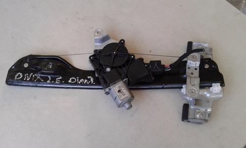 maquina de vidro elétrica dianteira esquerda gm onix + motor