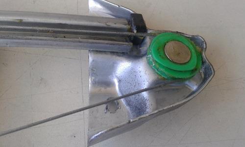 máquina de vidro manual traseira esquerda gm celta prisma