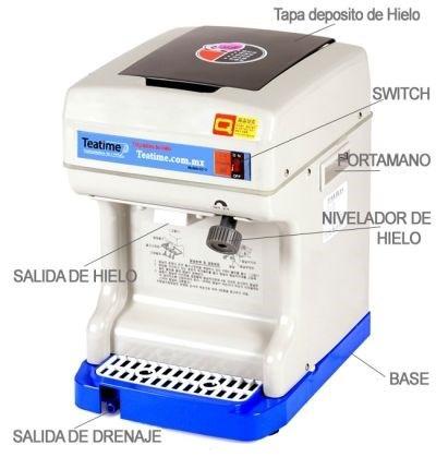 maquina de yun yun / raspados / frozen machine