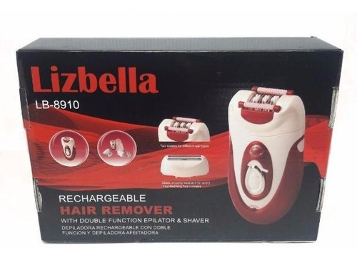 maquina depilatoria - rasuradora lizbella lb-8910 mujer