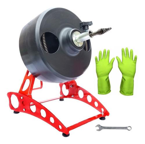 máquina desentupidora profissional rotomaster manual 20 mts