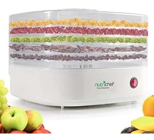 máquina deshidratadora de alimentos nutrichef - !