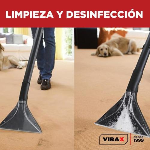 maquina desinfección limpieza tapizados alfombras y sillones