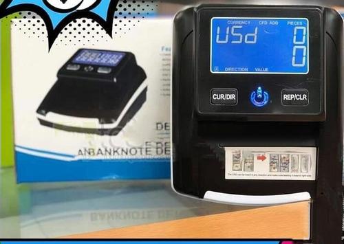 maquina detector y contador de billetes moderna portatil