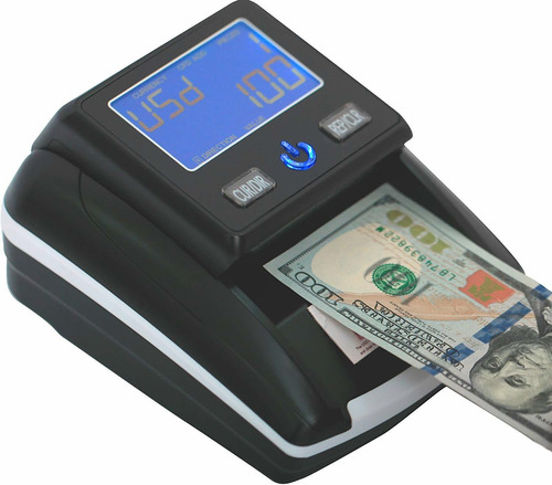 maquina detectora contadora de billetes  bank note usd- eur