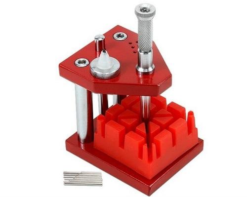 máquina diminuidor tira pino de pulseira relogio profissiona