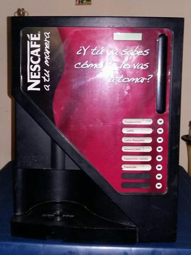 maquina dispensadora de capuchino nescafe