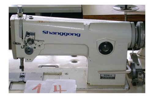maquina doble aguja marca shanggong modelo ed8-1