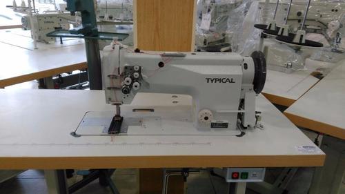 maquina doble aguja typical gc6220b importador directo