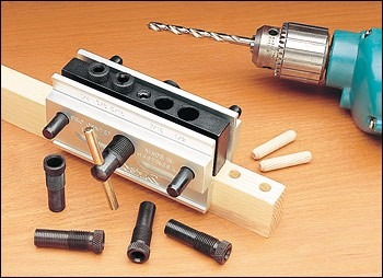Maquina Doweling Jig De Metal Aluminio Acero Centrar No