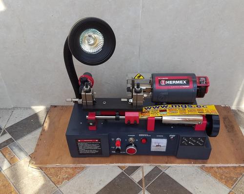 maquina duplicadora de llaves marca hermex