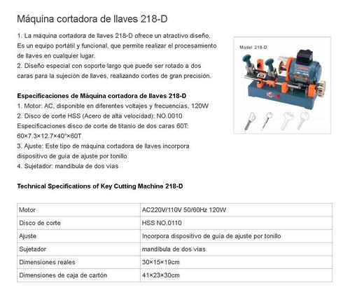 maquina duplicadora de llaves marca wenxing ref 218d (1197)