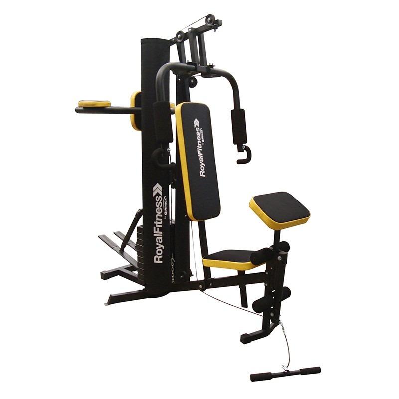 maquina ejercicio estacion gym gimnasio multifuncional