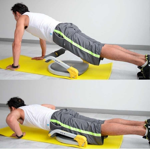 maquina ejercitador abdomen ab tomic by body crunch