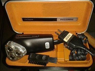 maquina eléctrica de afeitar barba marca phillips