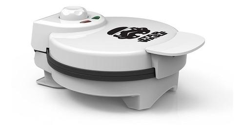 máquina eléctrica waflera cocinar wafles pancakes star wars