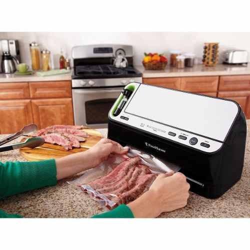 maquina empacadora alimentos sellado al vacío foodsaver 4440