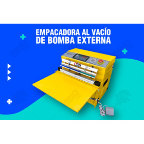 Maquina Empacadora Selladora Al Vacio De Bomba Externa