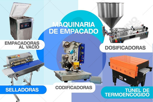 maquina empacadora selladora al vacio full stock