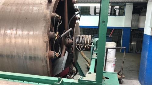 maquina engomadeira por aquecimento a óleo