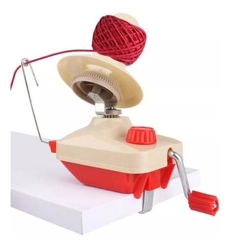 máquina enroladora enrolar fios linhas lã tricô crochê