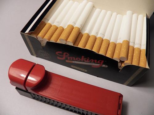 maquina enroladora para llenar cigarros en tubo [ ver video]