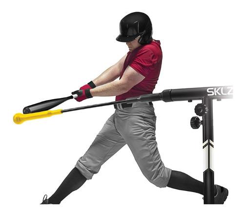 máquina entrenadora de bateo sklz hurricane category 4 bat
