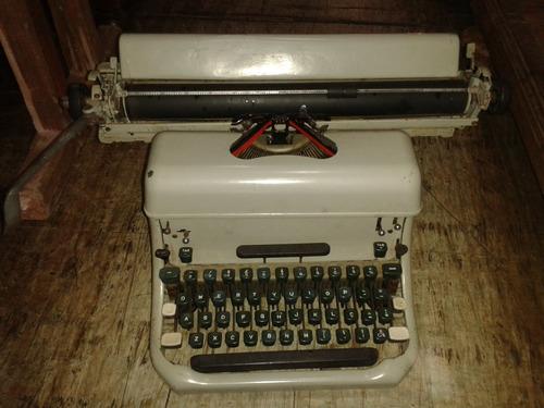 maquina escrever antiga remington perfeita (only wood)