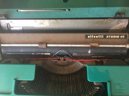 máquina escrever olivetti