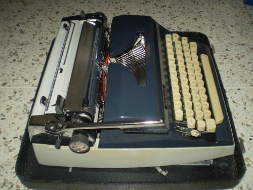 máquina escribir antigua adler gabriele 35 c/estuche alemana