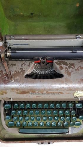 máquina escribir remington rand vintage reparada