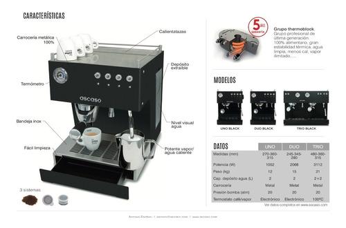 maquina espresso ascaso steel uno el mejor café en casa