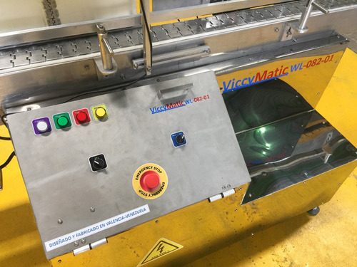 maquina etiquetadora automatica 1 y 2 cabezal viccymatic