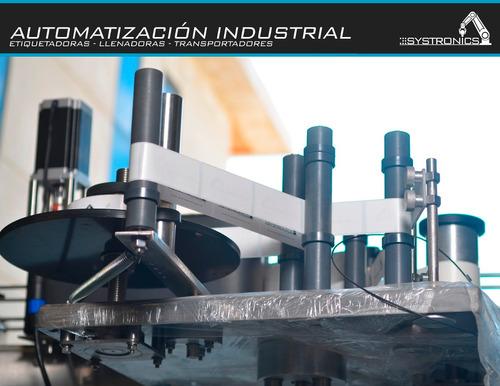 maquina etiquetadora automatica envases cilíndricos / planos