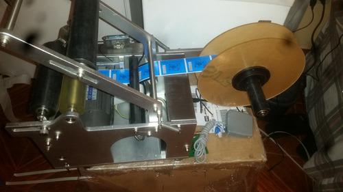maquina etiquetadora de frascos y botellas
