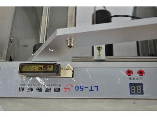 maquina etiquetadora para botellas redondas semiautomatica