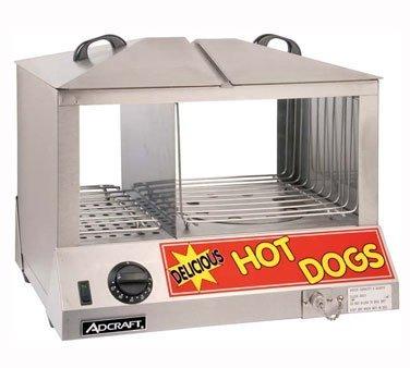 Maquina exhibidora para hot dog vaporera adcraft hds 8 en mercado libre - Vaporera profesional ...
