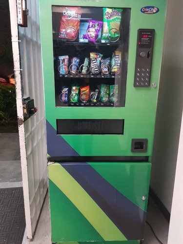 máquina expendedora de botana (vending machine)
