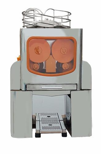 máquina exprimidor de jugo de naranja acero