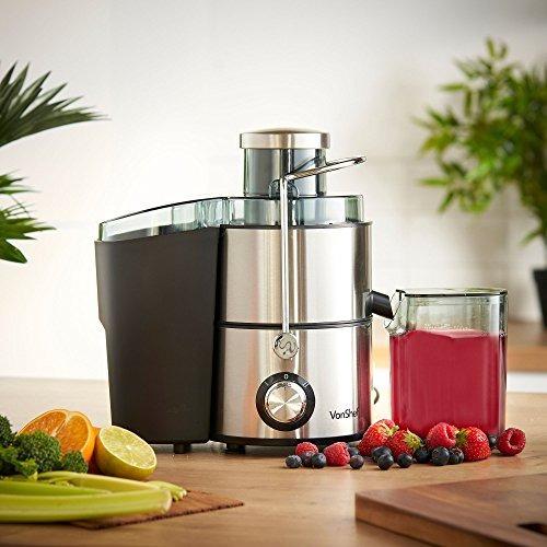 máquina exprimidora vonshef exprimidor de zumo de fruta exp