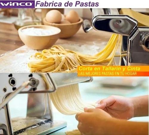 maquina fabrica de pastas acero inoxidable winco w150