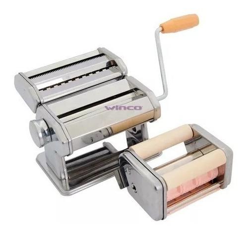 maquina fabrica de pastas fideos+ raviolera + masa excelente ideal para cocinas hogar gastronomia fácil de usar