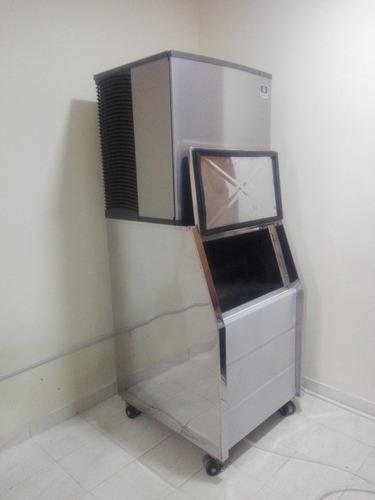 maquina fabricadora de hielo industrial