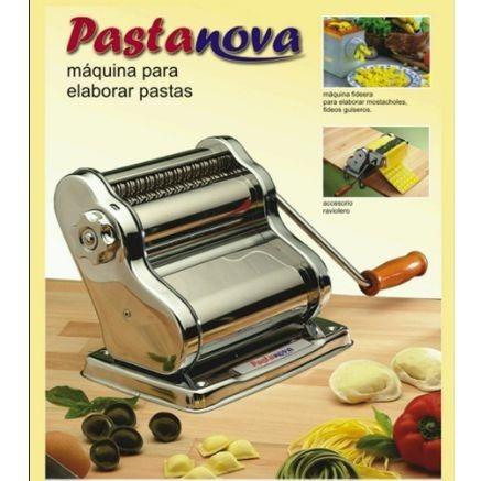 maquina fabricadora de pastas pastanova hogaris nova roja