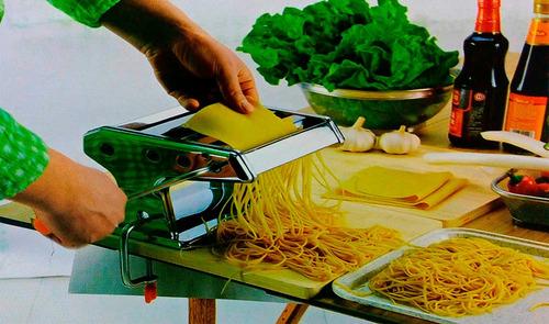 maquina fazer macarrão 3 tipos de massa caseira completa