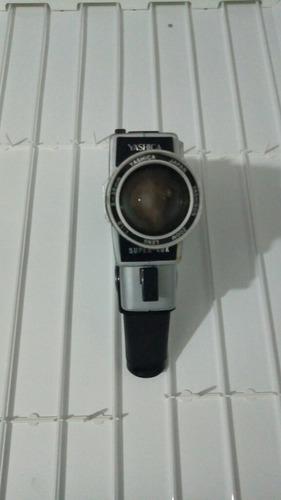 máquina filmadora preto e branco antiga marca yashica