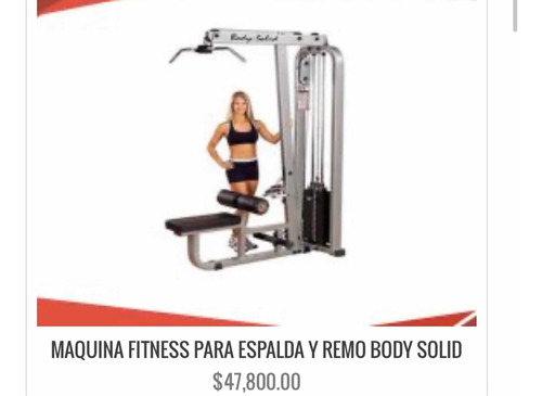 máquina fitness
