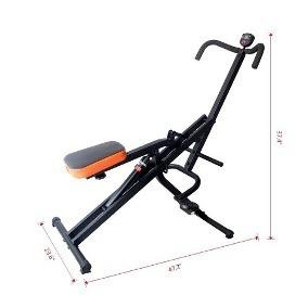 maquina fitness cilindro fit body total horse crunch + envió